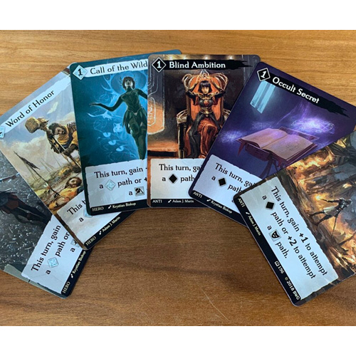 Call to Adventure Promo Hero and Antihero Cards