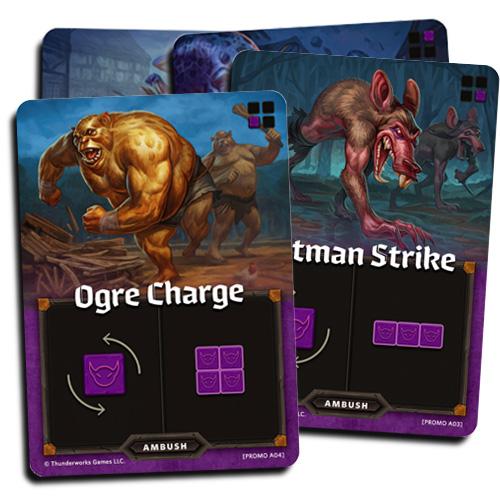 Four new ambush cards for Cartorgraphers