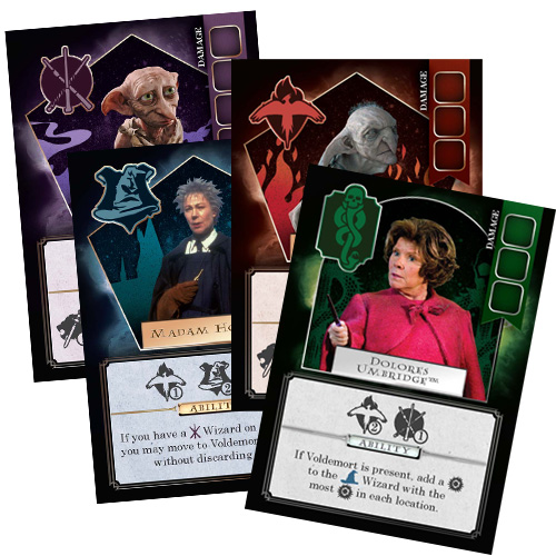 Harry Potter: Death Eaters Rising Promo Cards